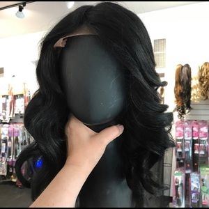 Accessories - Swisslace Lacefront Black Beauty Wig more colors
